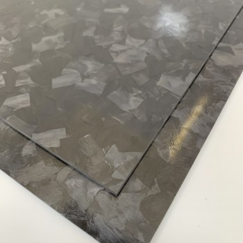 Carbon Fibre Sheet AA Side (Forged Gloss)