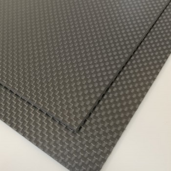 Carbon Fibre Sheet AA Side (Plain Weave Matte)