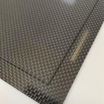 Carbon Fibre Sheet AA Side (Plain Weave Gloss)