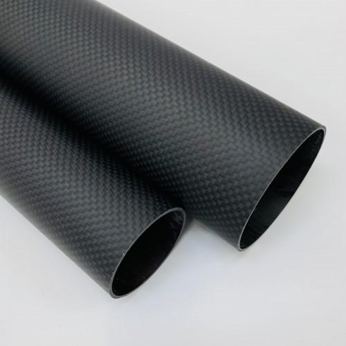 Carbon Fibre Tube (Plain Weave Matte)