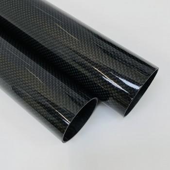 Carbon Fibre Tube (Plain Weave Gloss)