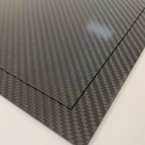 Carbon Fibre Sheet AA Side (Twill Gloss)