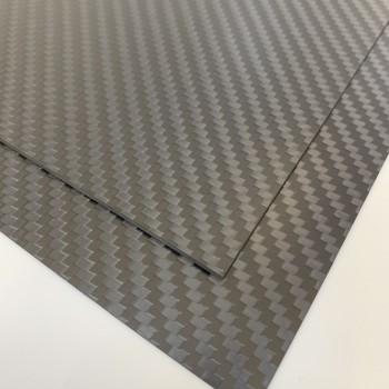 Carbon Fibre Sheet AA Side (Twill Matte)